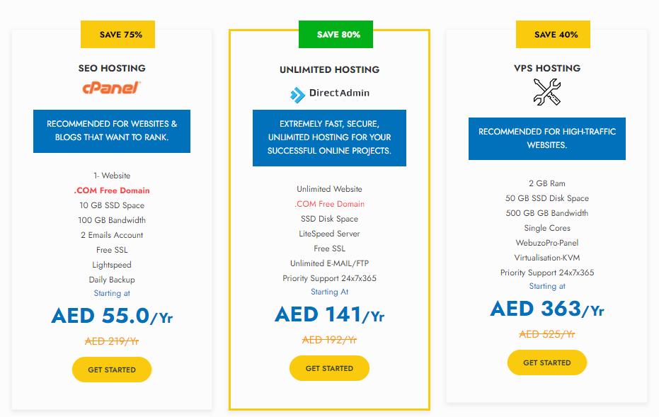 Best Hosting Servers in UAE