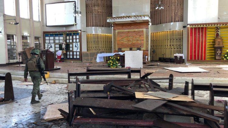 Philippines: Đức Thánh Cha Phanxico, các Giám mục Công giáo lên án vụ tấn công vào Nhà thờ Chính tòa ở Thành phố Miền nam