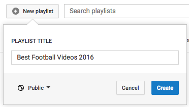 You Can Share & Collaborate On Video Playlists