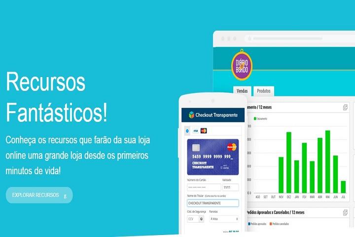 Plataformas para e-commerce Loja Integrada captura de tela
