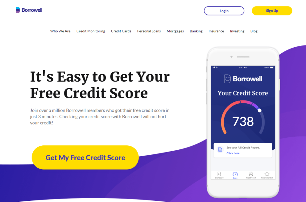Borrowell Reviews - Free credit score in Canada
