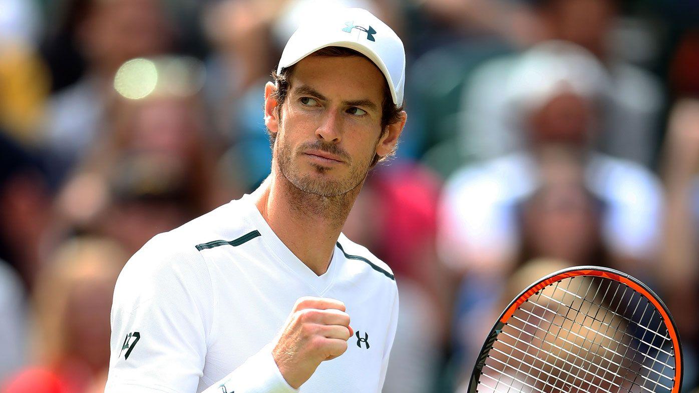 Andy Murray对上Serena的胜率稍嫌不足