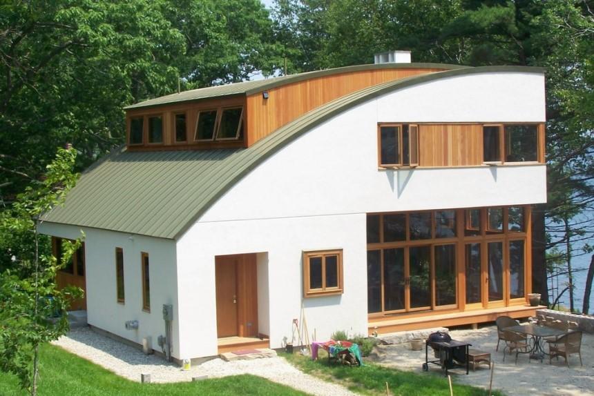 Thiết kế mái nhà tạo vẻ độc đáo cho công trình