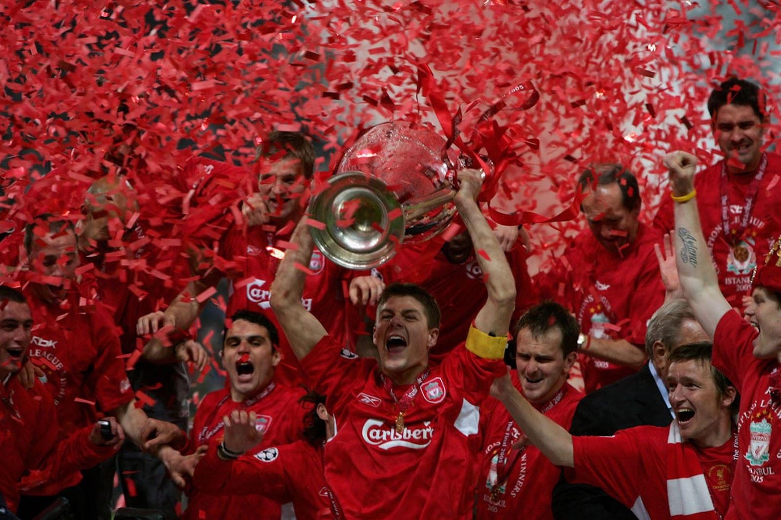 Kết quả hình ảnh cho Liverpool vs AC Milan | 3-3 (2005 UEFA CL Final)
