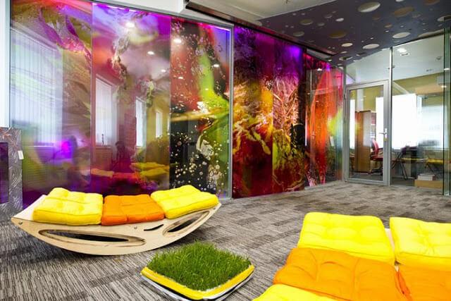 Thiết kế nội thất văn phòng theo màu sắc