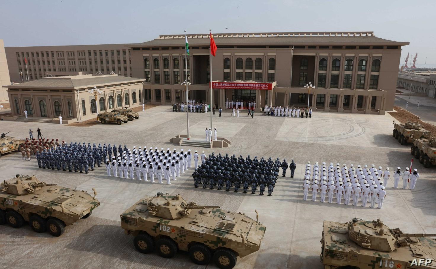 Risultato immagini per Gibuti Chinese base