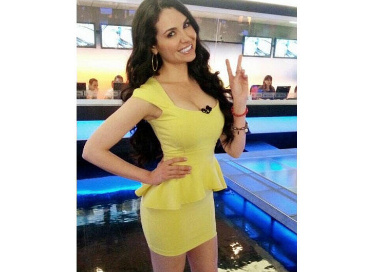 Mayte Carranco from MTY Television