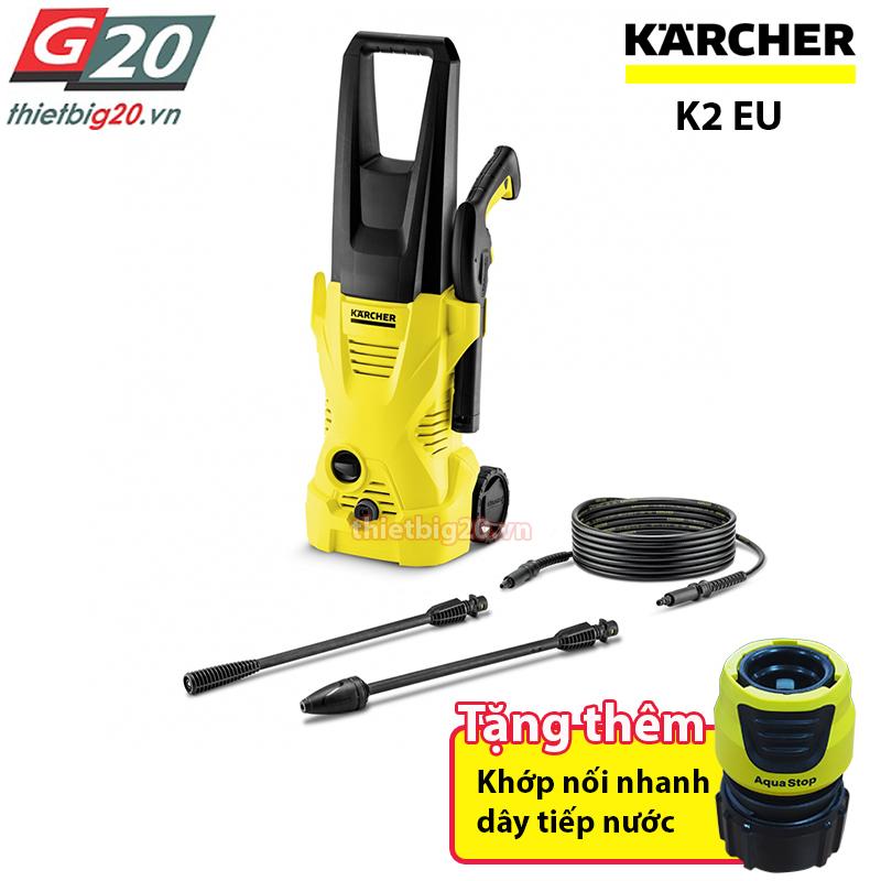 Máy rửa xe gia đình Karcher K2 Compact giá rẻ