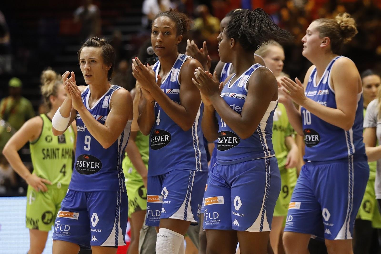 Céline Dumerc au coeur de la planette Basket