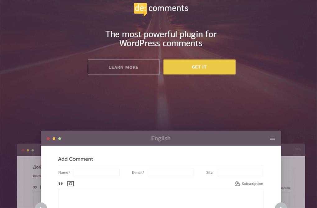 extensão de:comments para caixa de comentários no wordpress
