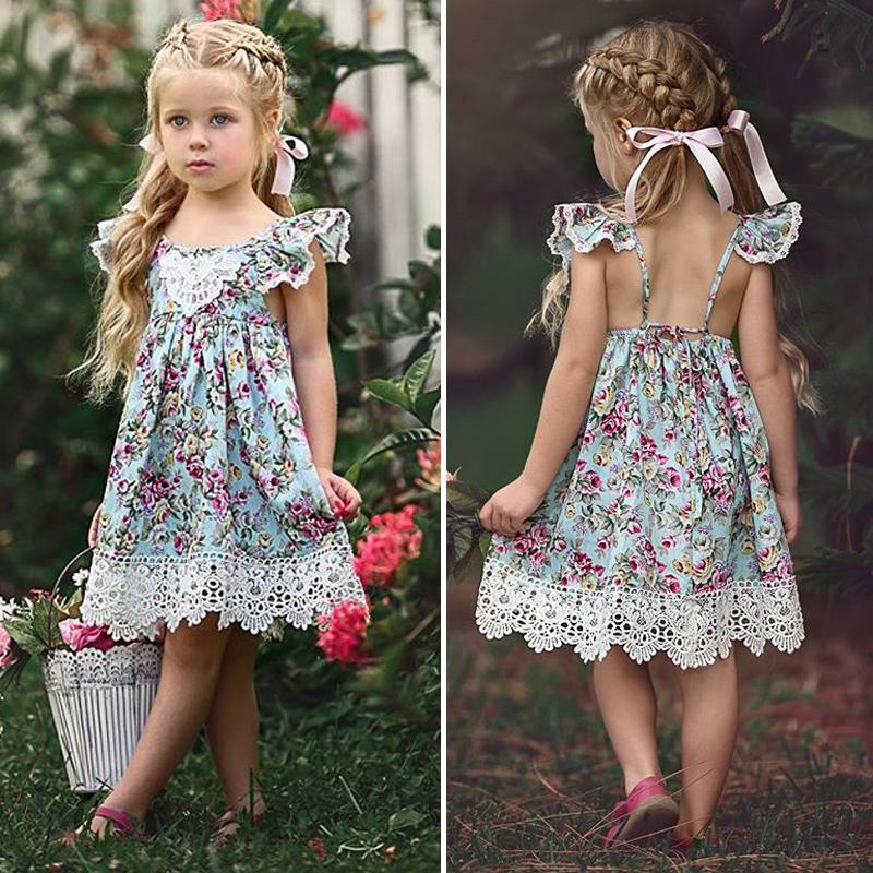 Sukienka dziewczęca wizytowa