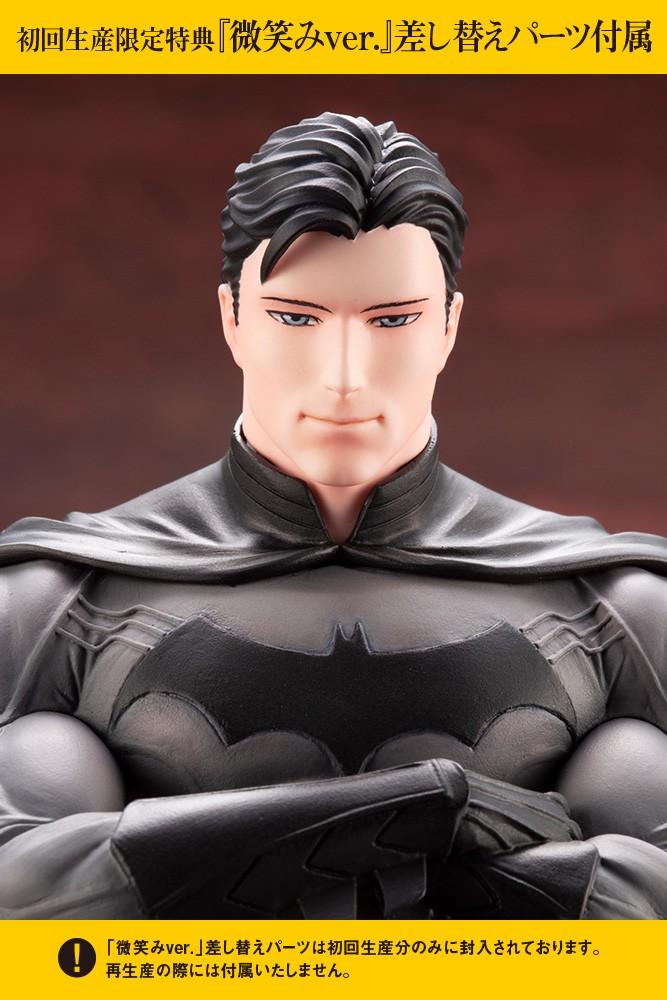 [初回限定版] KOTOBUKIYA / 壽屋 / 1/7 / DC COMICS / IKEMEN 花美男系列 / 蝙蝠俠 PVC 附微笑表情