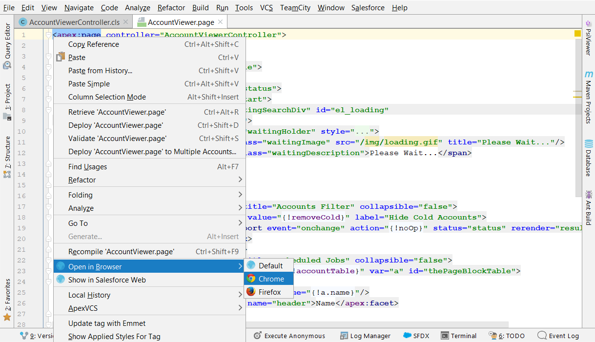 Deep Dive into Debugging Apex and Visualforce Code with New