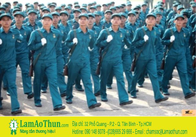 Blue Morning chuyên bán trang phục dân quân tự vệ chất lượng