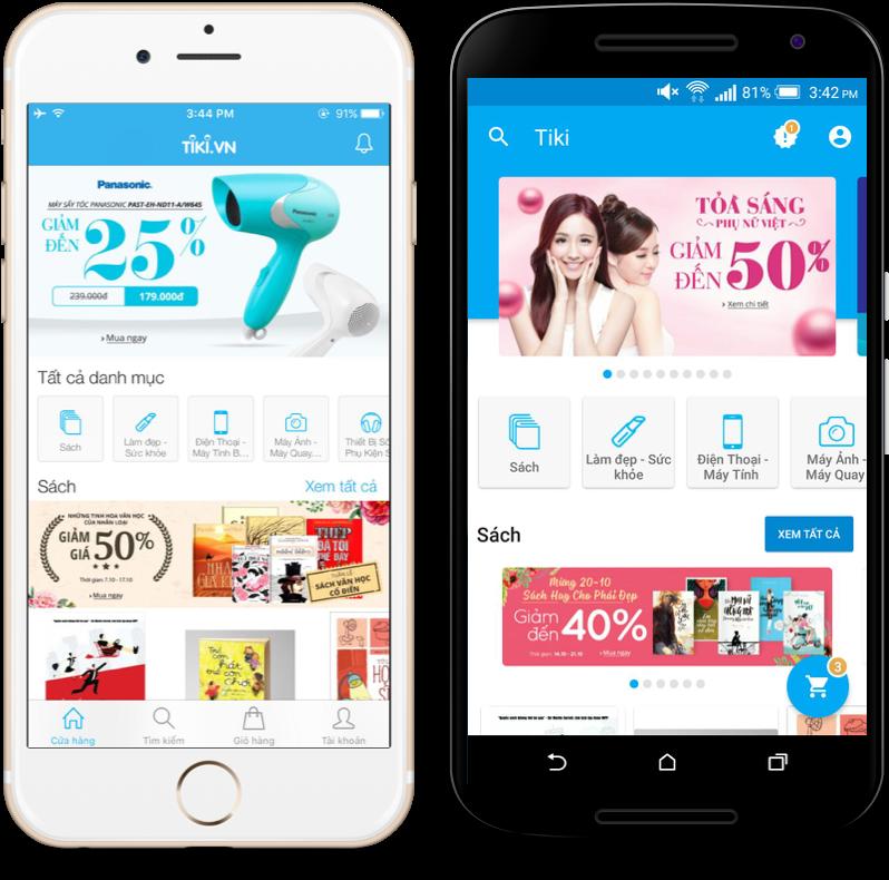 Cách lấy mã giảm giá cùng những ưu đãi trên app Tiki