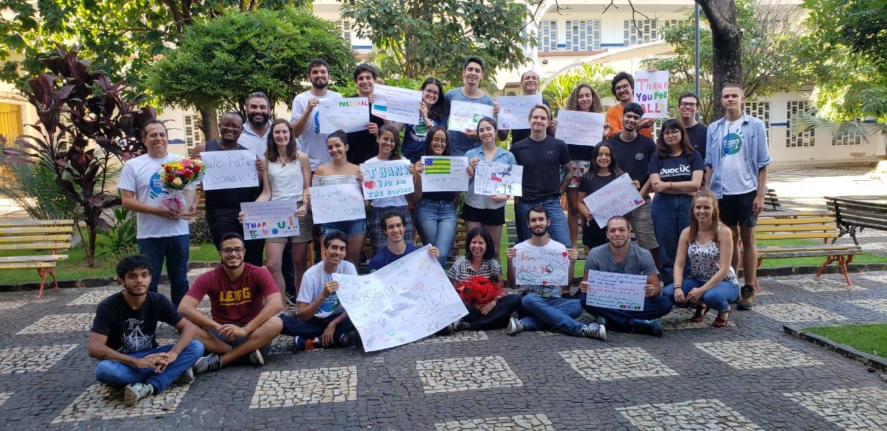 coronavirus interrompe projeto em Goiás