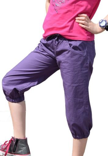 Spodnie rybaczki dla dziewczynki