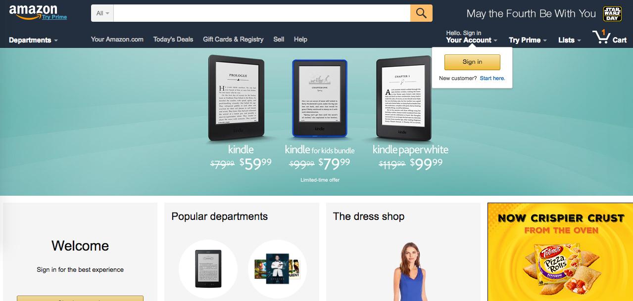 Инструкция по Amazon