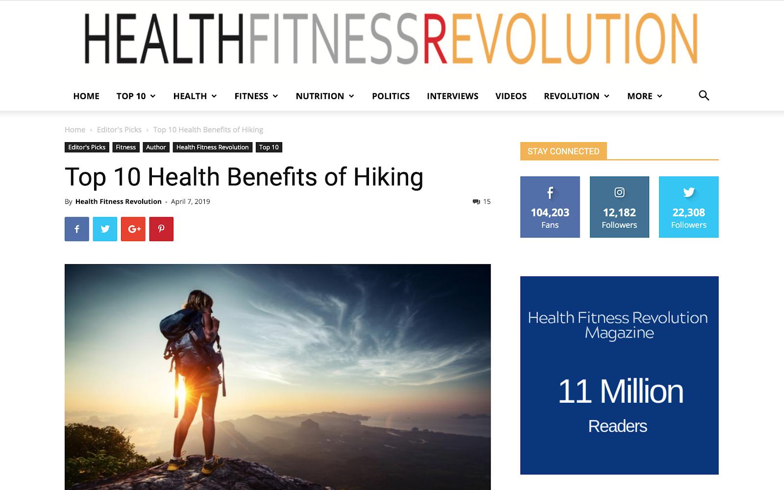 HealthFitnessRevolutoon Screengrab