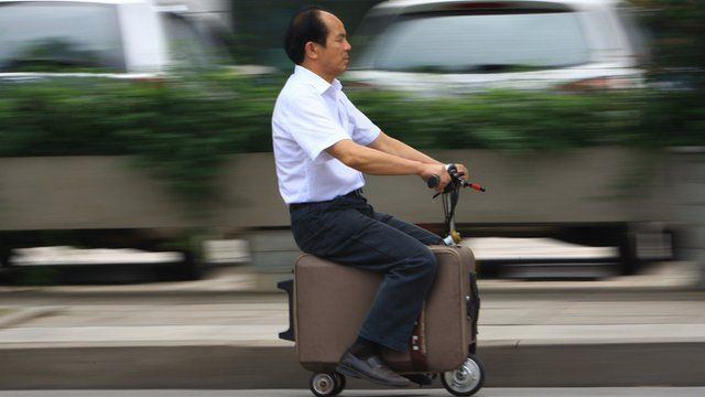 Image result for suitcase scooter