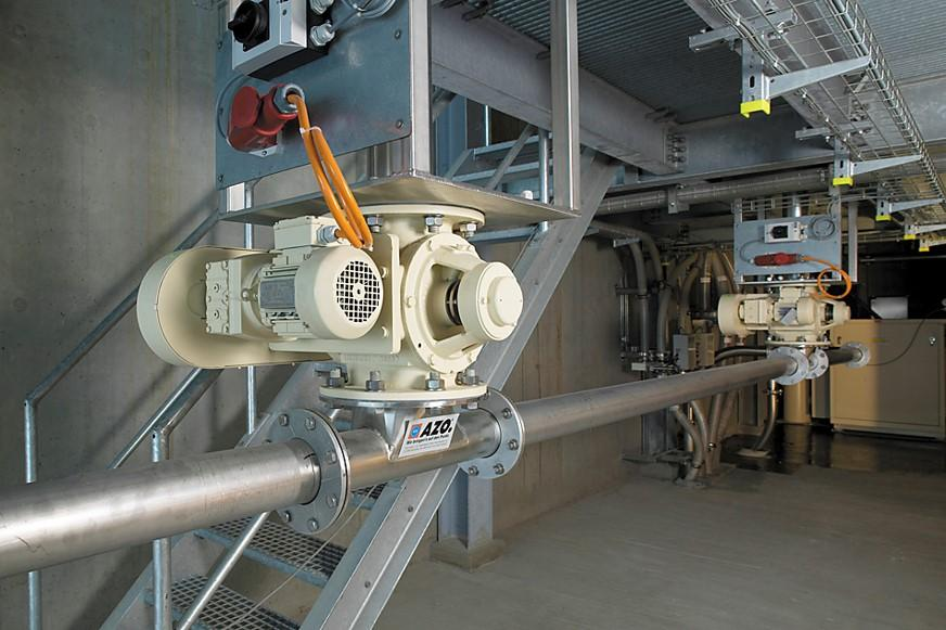 dilute phase pressure system convey blower