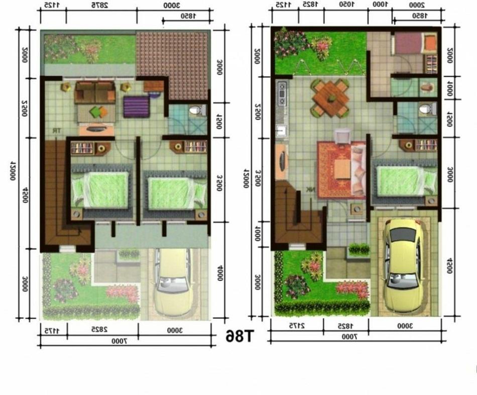 Contoh Desain Rumah 2 Lantai Dan Biaya Pembangunannya