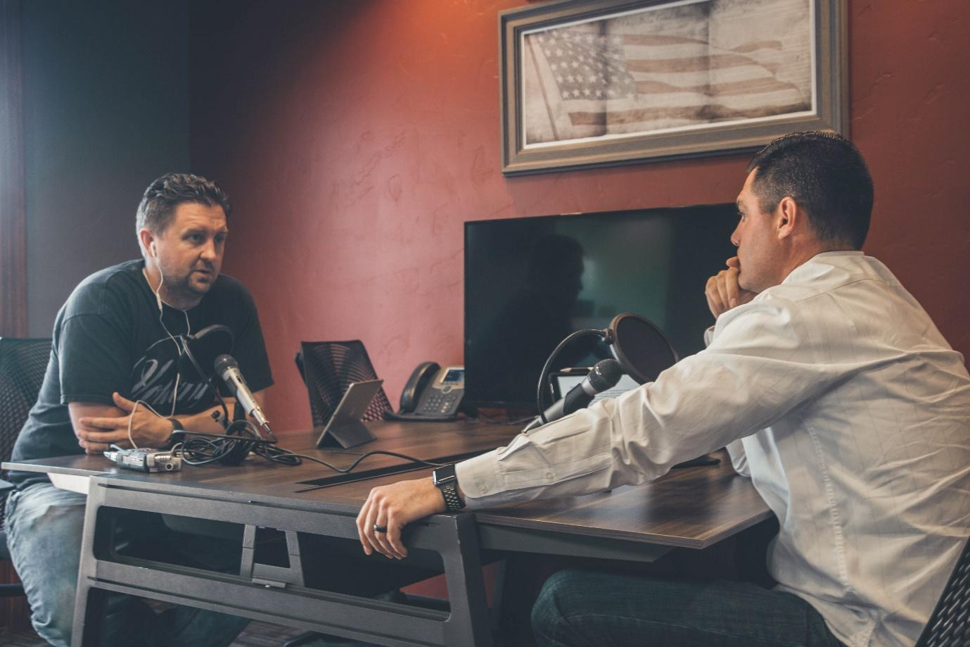 Image result for interview podcast