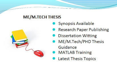 Thesis topics for m tech vlsi