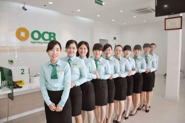 Đồng phục ngân hàng OCB