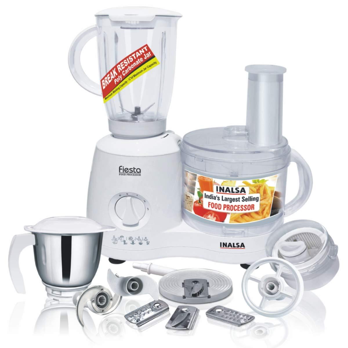 Inalsa Fiesta Food Processor 650-Watt