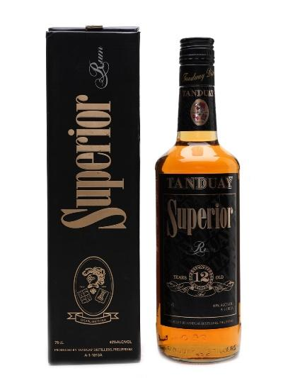 Tanduay Superior 12 Year Old Rum - Lot 19717 - Whisky.Auction ...