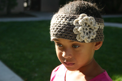 Free Pattern Spring Fling Mesh Flower Headband
