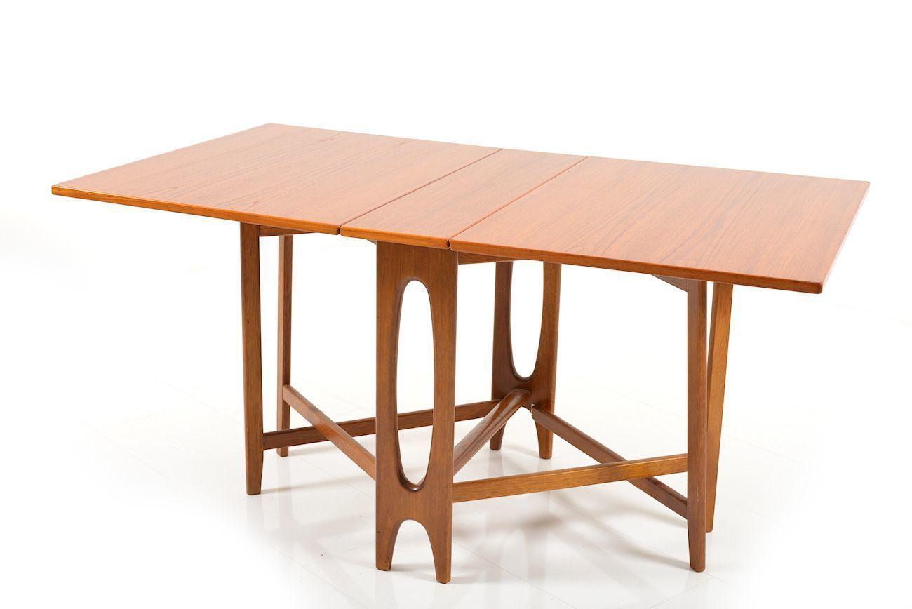 drop leaf g plan vintage dining table