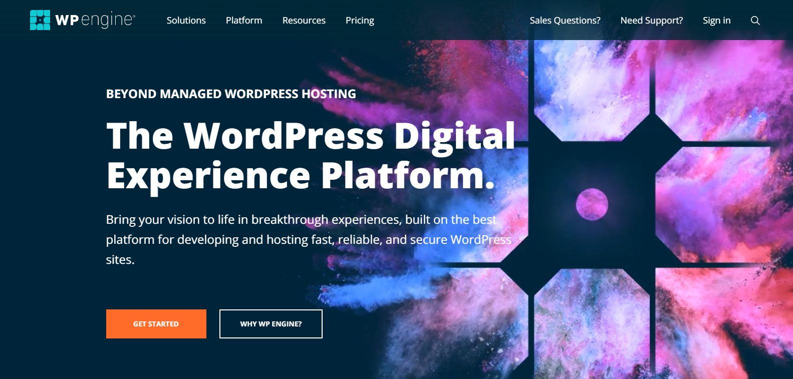 wpengine Enterprise Managed WordPress Hosting