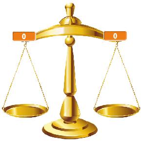 Đối tượng cân và 2 biến SumL SumR
