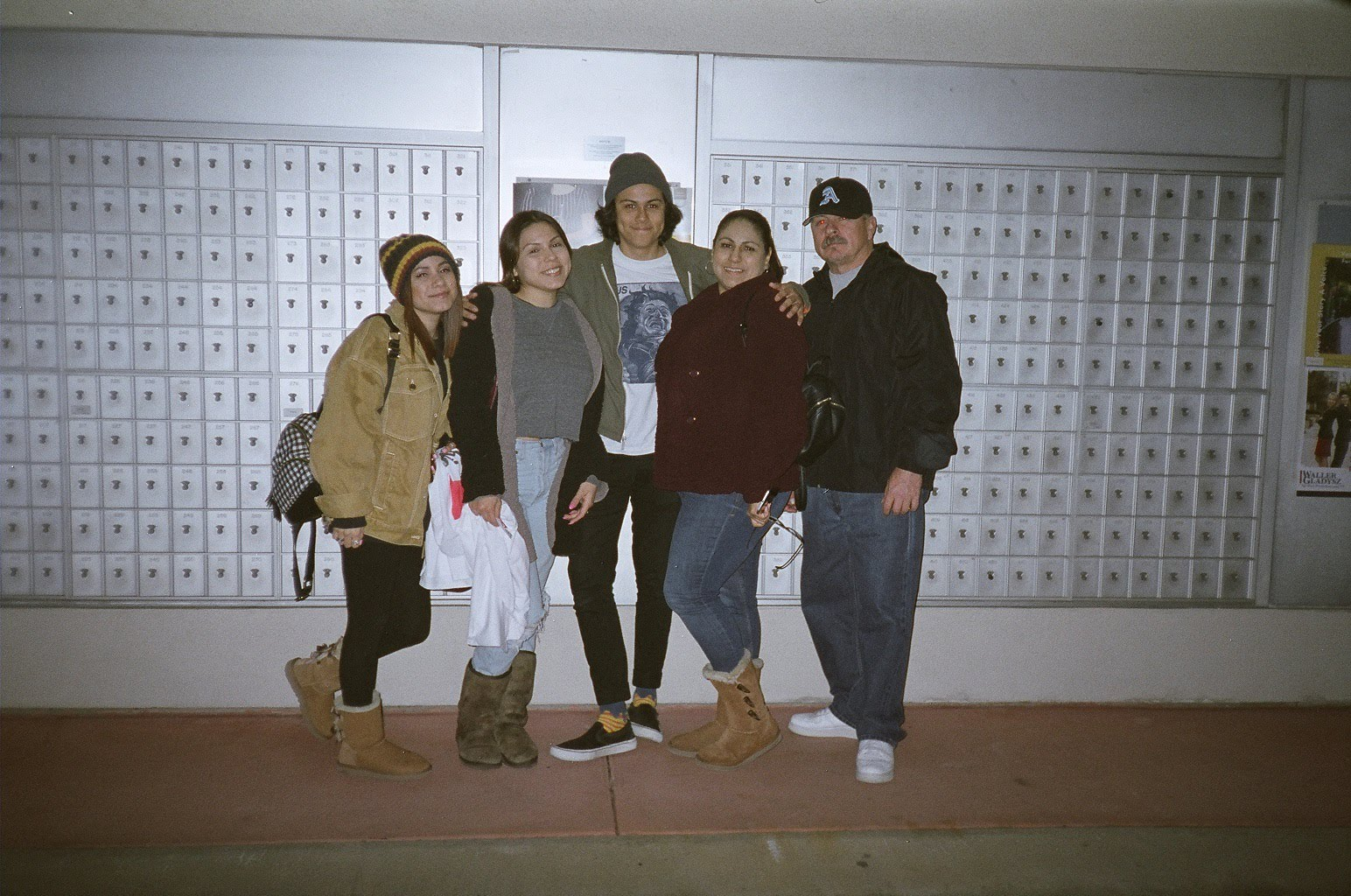 Tony's family after one of his shows
