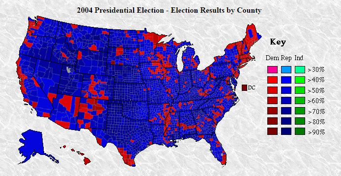 Map Of California Election Results.Mike Pence Says Donald Trump Won Most Counties By A Republican Since