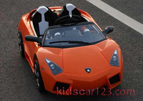 xe hơi điện trẻ em ls-518 màu cam