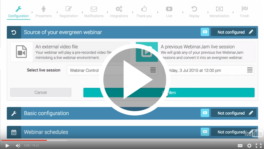 Nothing converts better than Live Webinars… Until Now - Welcome EverWebinar 7