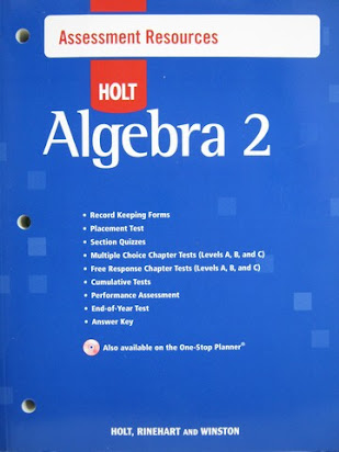 Holt california algebra 2 homework practice workbook answer key