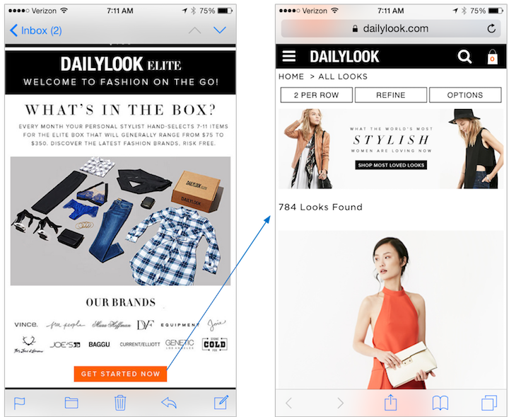 DailyLook Email