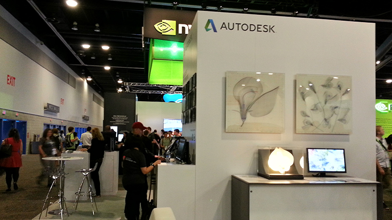 autodesk display booth