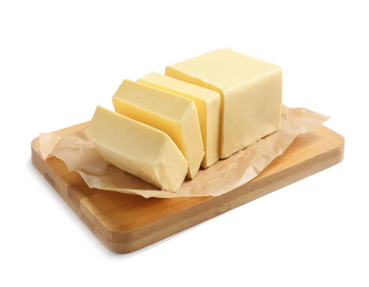 Creamy, buttery or oily food