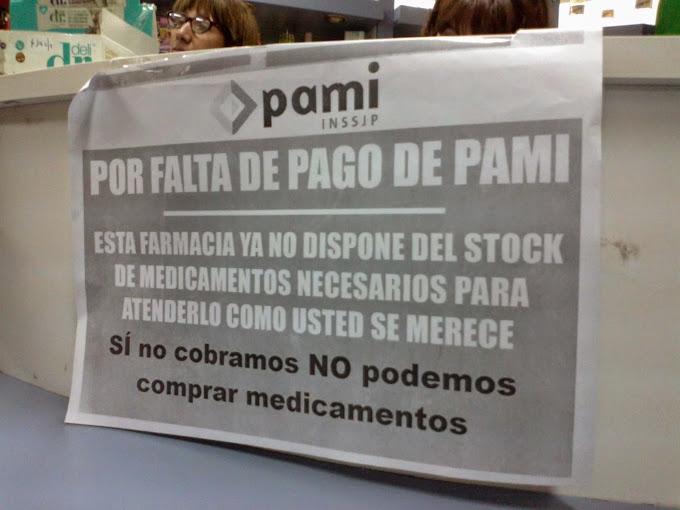Por la deuda de PAMI, las farmacias no garantizan el servicio completo a los jubilados