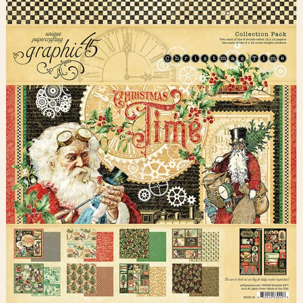Christmas Time 12x12 Collection Pack