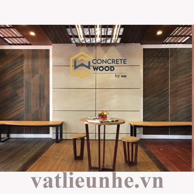Sàn nội thất Concrete Wood chất lượng