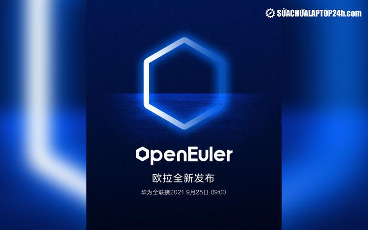 Poster về sự kiện openEuler