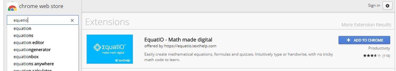 Equatio for Chrome download