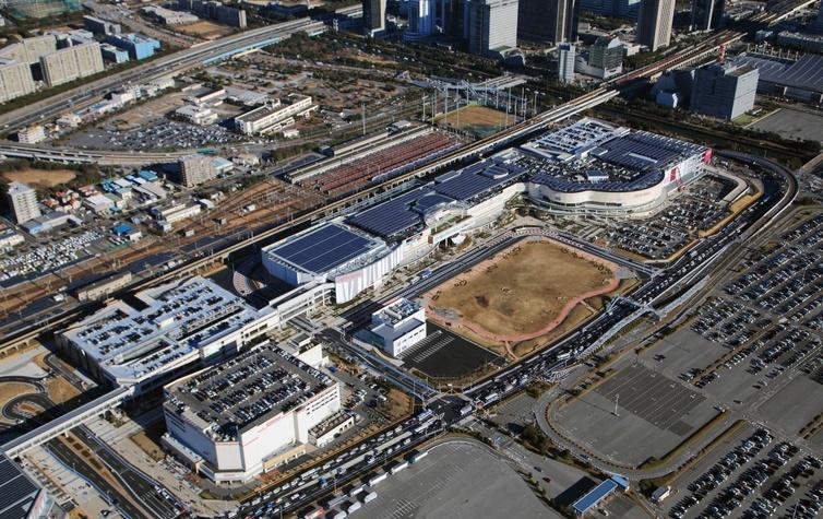全国の超大型・大型のショッピングモール|大きさ・面積ランキング