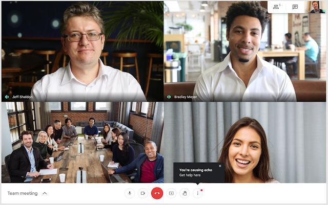 Novedades usuario Google Meet y Chat Septiembre